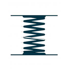 Виброизоляторы пружинные ДО (0)