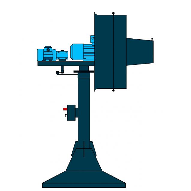 ПАМ-18 с мотор-редуктором